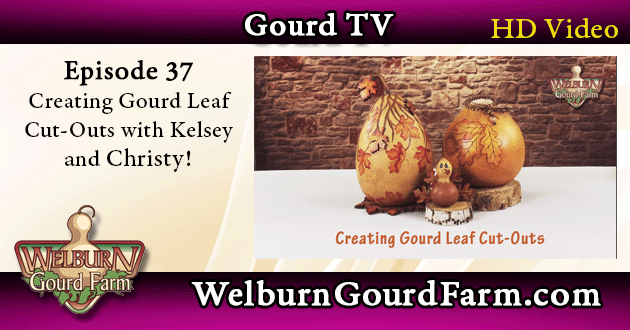 37: Creating Gourd Leaf Cut-Outs with Christy Barajas