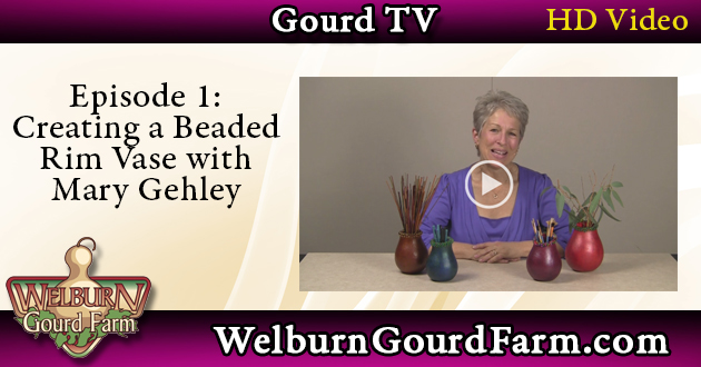 Episode 1: Creating a Beaded Rim Vase with Mary Gehley