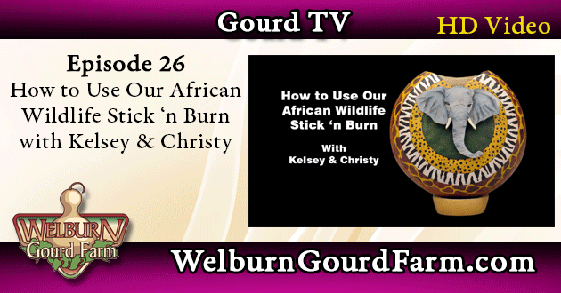 Episode 26: How to Use Our African Wildlife Stick 'n Burn with Kelsey and Christy