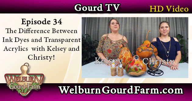 34: The Difference Between Ink Dyes and Transparent Acrylics with Kelsey and Christy