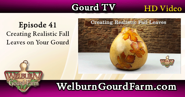 41: Creating Realistic Fall Leaves