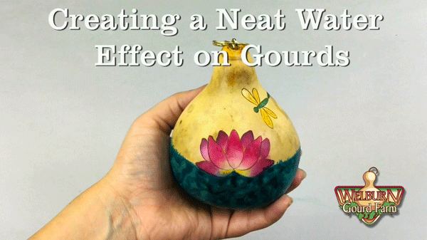 42: Creating a Water Effect on Your Gourds